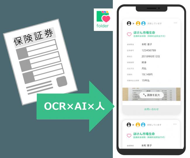 保険証券OCR